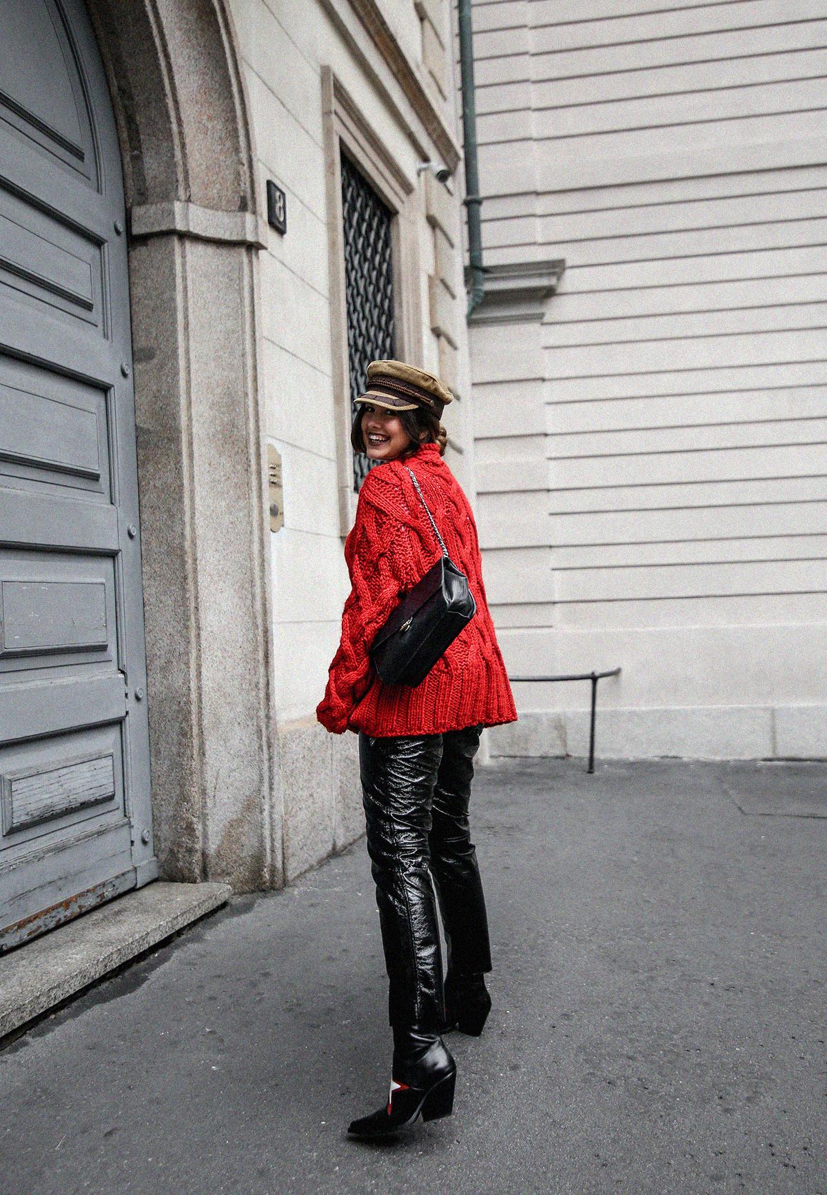 pantalones de charol look myblueberrynightsblog9