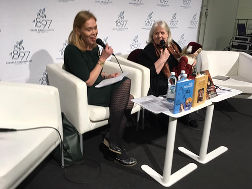 Helsingin kirjamessut Lähteenmäki ja Amnell
