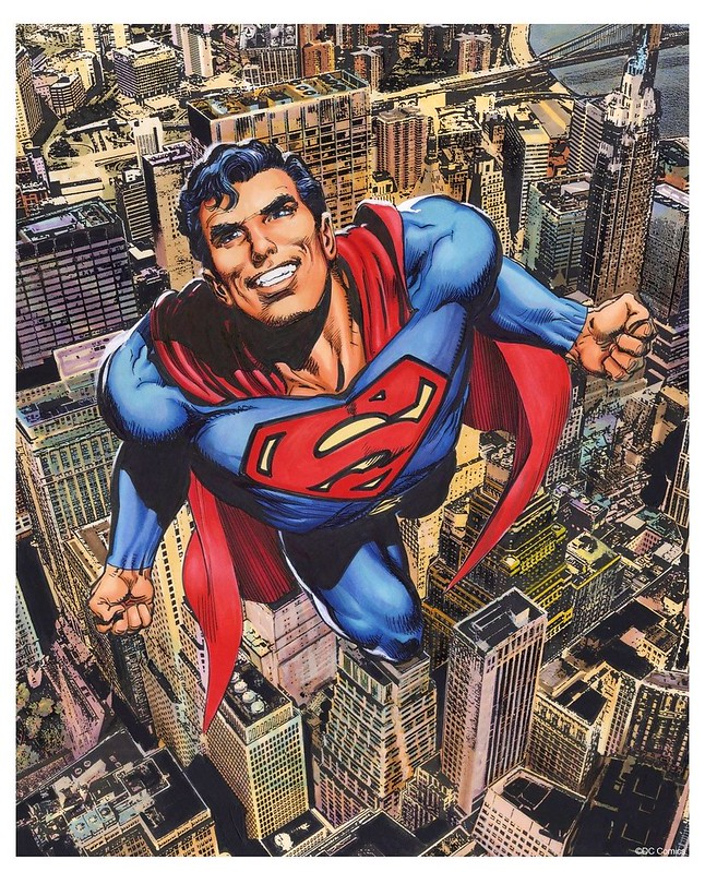 New Action Comics 419 cover redone by Neal Adams