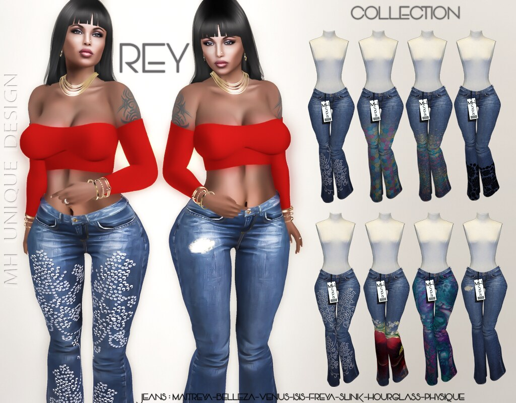MH-Rey Jeans-Collection - TeleportHub.com Live!