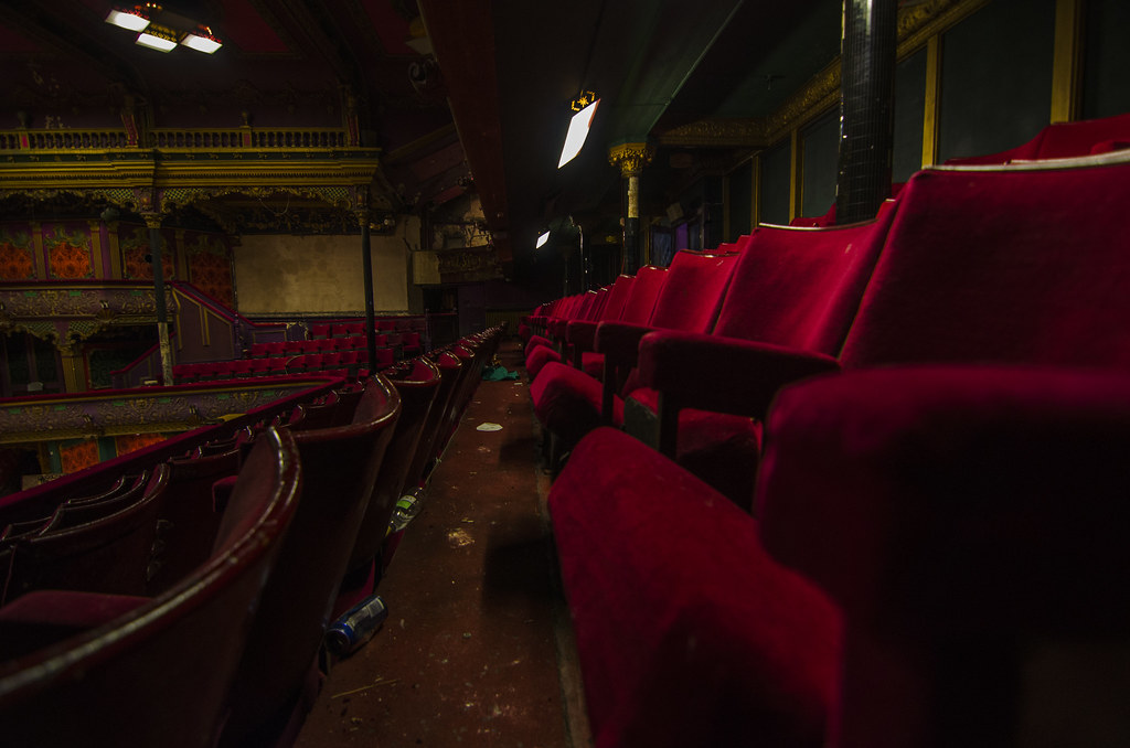 The abandoned theatre