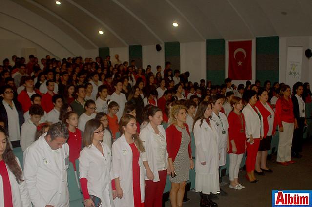 Doğa Koleji Alanya 29 Ekim Cumhuriyet Bayramı kutlaması