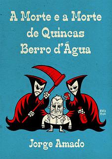 Capa de A morte e a morte de Quincas Berro Dágua, de Jorge Amado.