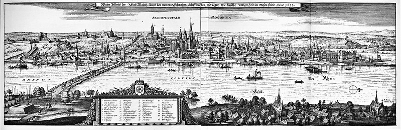 Matthäus Merian - Topographia Archiepiscopatuum Moguntinensis (1646)