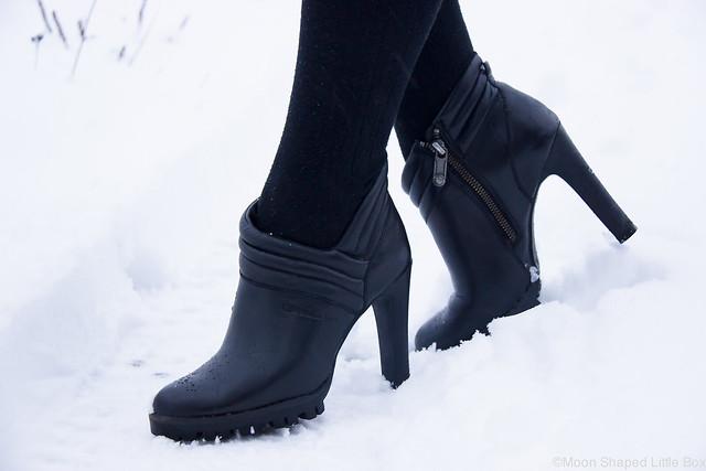 Calvin Klein nahkanilkkurit tyylikkäät talvikengät