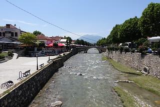 The Prizren Bistrica river