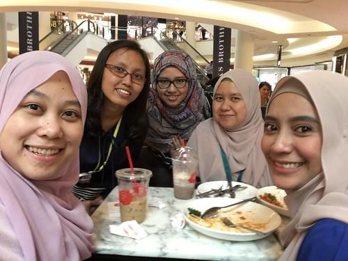 Lunch with GLC @ KLCC