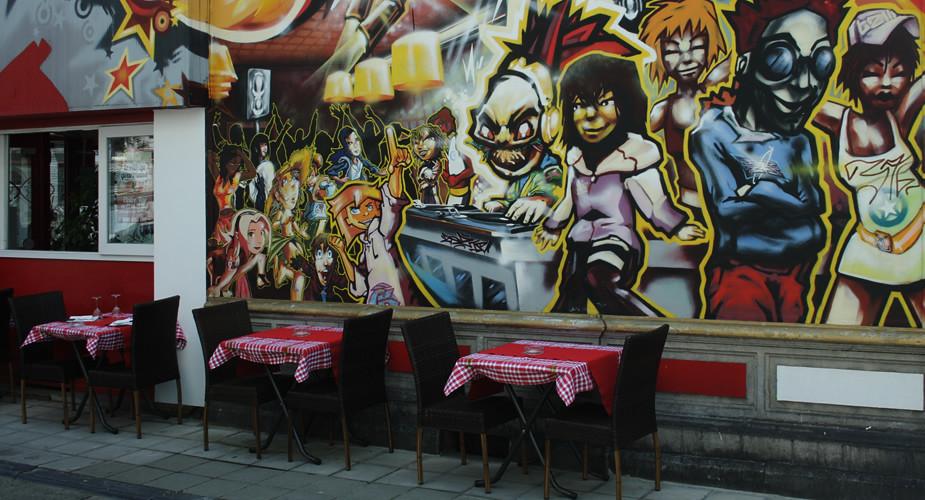 Bezienswaardigheden Luik: Outremeuse, streetart | Mooistestedentrips.nl