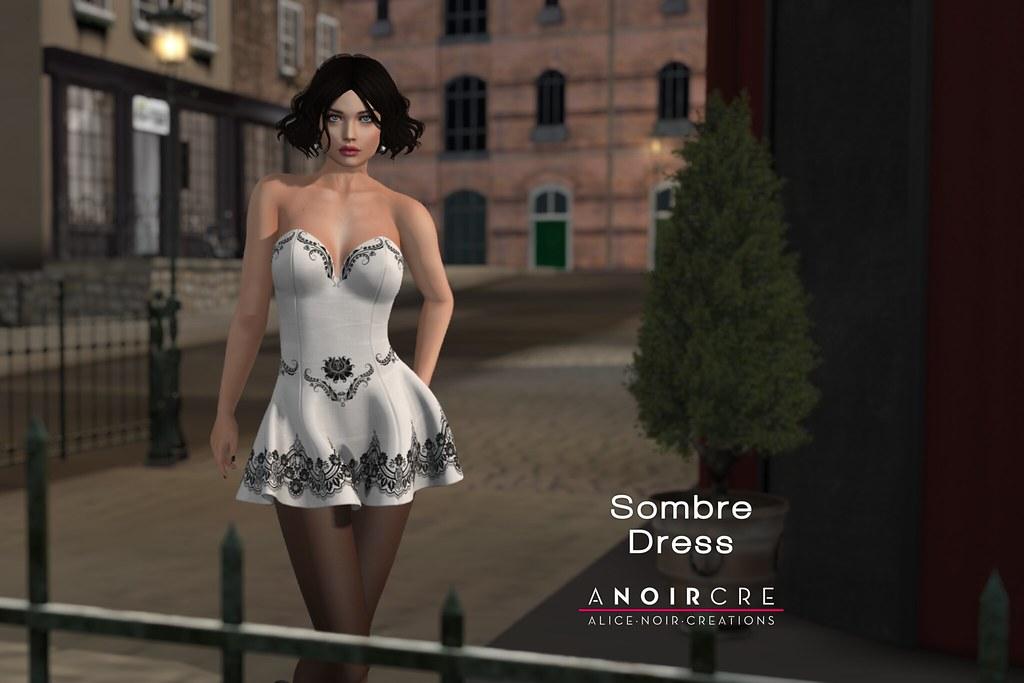 ANOIRCRE - Sombre Dress - TeleportHub.com Live!