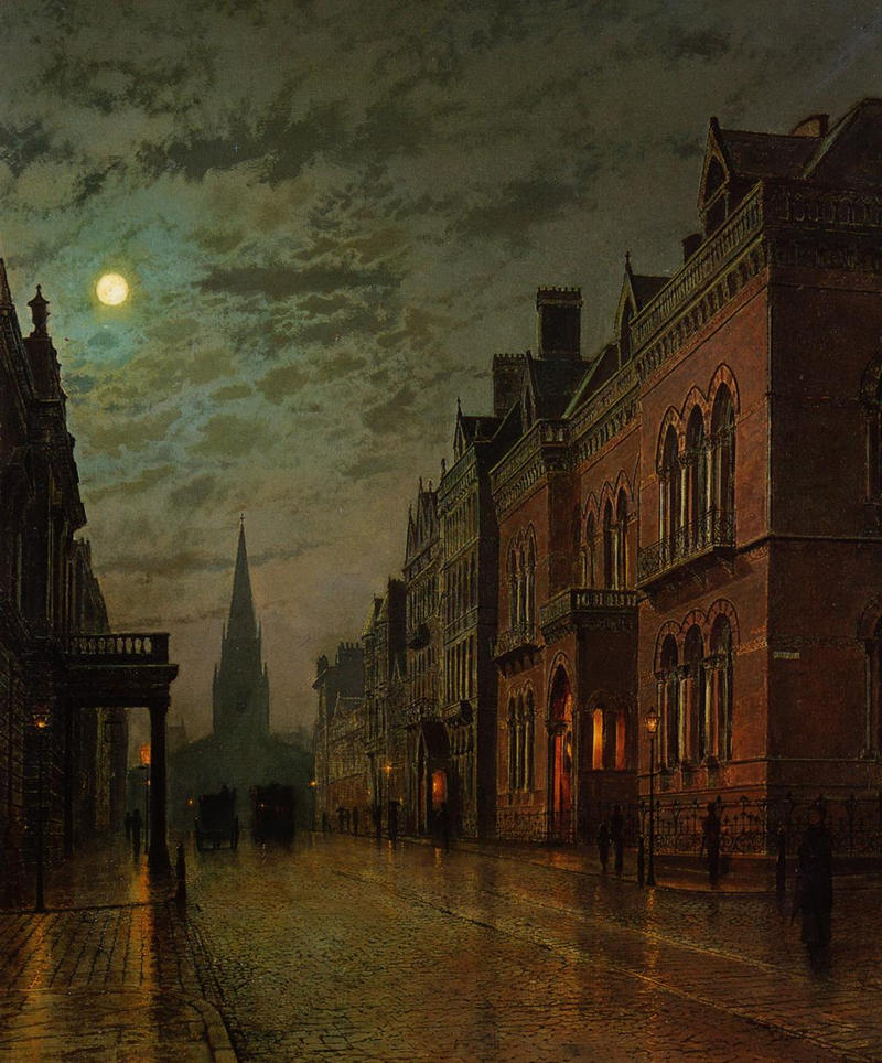 Park Row, Leeds by John Atkinson Grimshaw, 1882