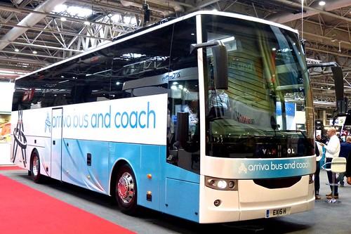 'Coach & Bus UK17' 'arriva bus and coach' Van Hool EX15H on 'Dennis Basford's railsroadsrunways.blogspot.co.uk'