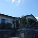 高台の平屋
