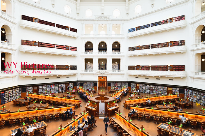 Melbourne 2017:  State LIbrary Of Victoria The La Trobe Reading Room 3