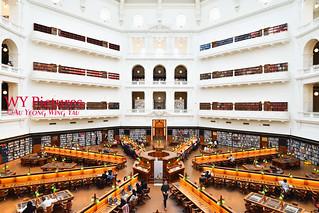 Melbourne 2017: State LIbrary Of Victoria The La Trobe Reading Room 3