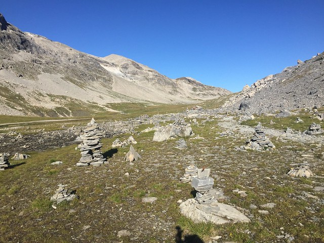 Cairn col de la Vanoise
