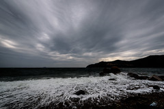青江湾曇り空 #2ーCloudy Aoe Bay #2