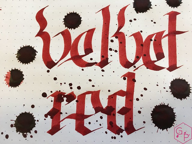 Ink Shot Review @Montblanc_World William Shakespeare Velvet Red @couronneducomte 9