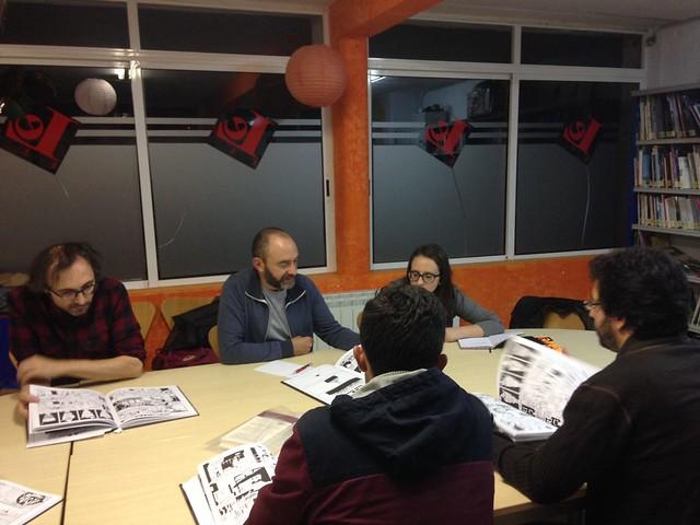 Club Lecturas Debuxadas 17/10/2017
