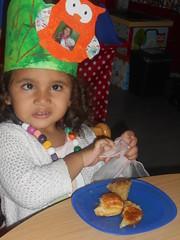 feest voor Amina in de uiltjesklas