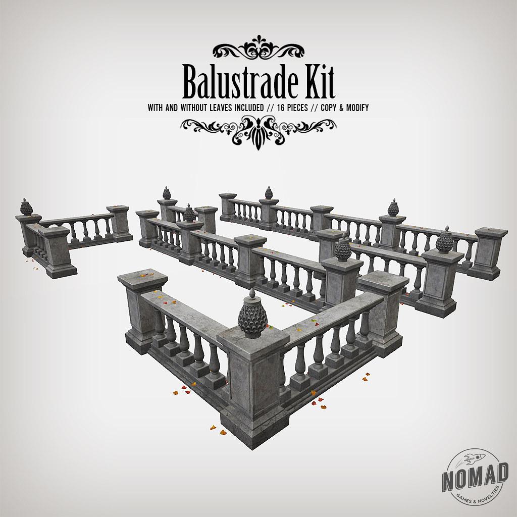 NOMAD - Balustrade Kit - TeleportHub.com Live!
