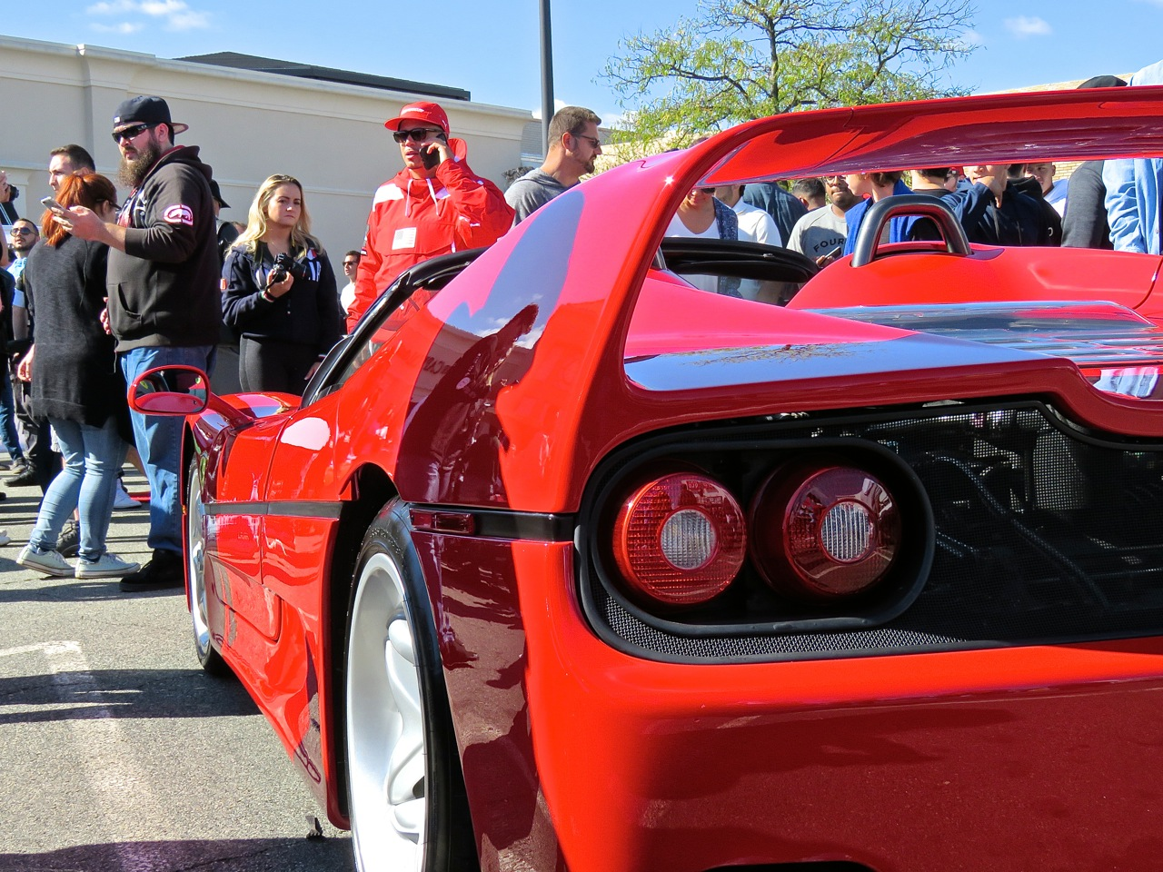 Ferrari F50 at Garden State Plaza