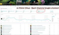 14 Million Views Black Diamond Images Flickr Photostream - 2nd October 2017