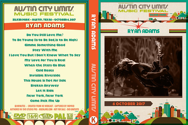 Ryan Adams - Austin City Limits Festival 2017
