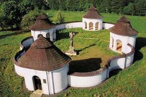 Cemetery in Zdar nad Sazavou