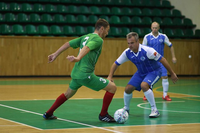 2017-10-01 Veteran's Futsal Cup «40+». День 3. Часть 2