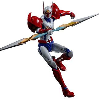 龍之子英雄FIGHTING GEAR 《宇宙騎士》Tekkaman 「Infini-T Force劇場配色版本」!タツノコヒーローズ ファイティングギア Infini-T Force テッカマン ファイティングギア ver.