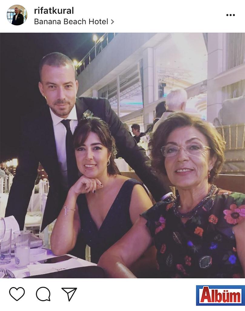 Rıfat Kural, Banana Beach Hotel'de düzenlenen düğün töreninden paylaştığı bu fotoğraf ile takipçilerinin beğenisini topladı.