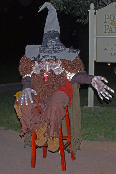 Hallowe'en in Greenfield Village: Glowing Faces in Old-Time Places | via Wading in Big Shoes