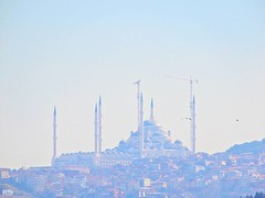 Çamlıca Camii  by Bosphorus