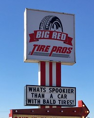 In the #spirit of #halloween let's get those tires checked!! #spooky #tires