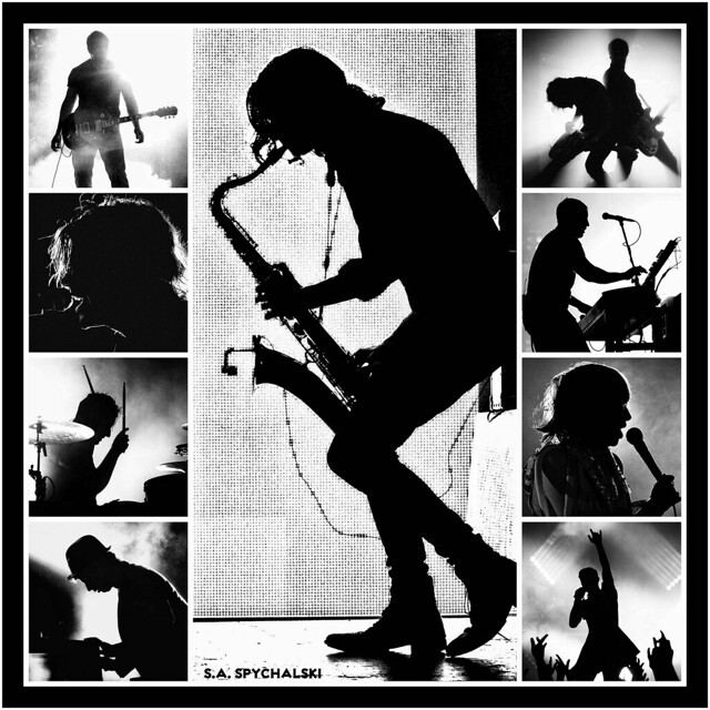 Live Music Silhouettes