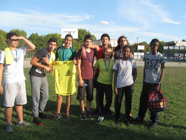 Les élèves du lycée Robert Doisneau se sont affrontés au cours d'un challenge multi-sport