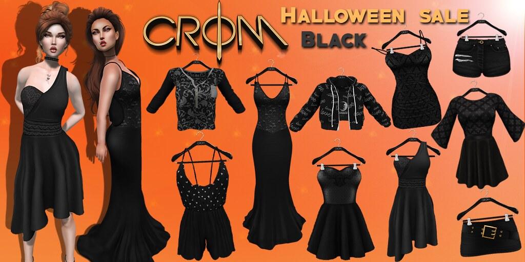 -CroM- Halloween SALE - BLACK - TeleportHub.com Live!