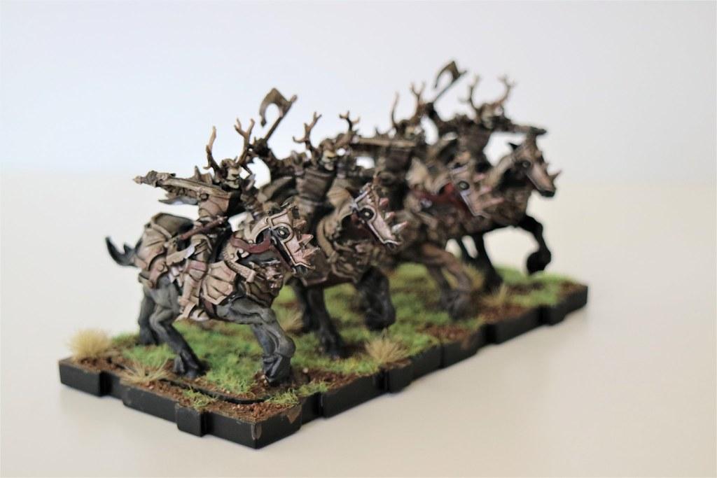 Runewars Miniatures Death Knights 2