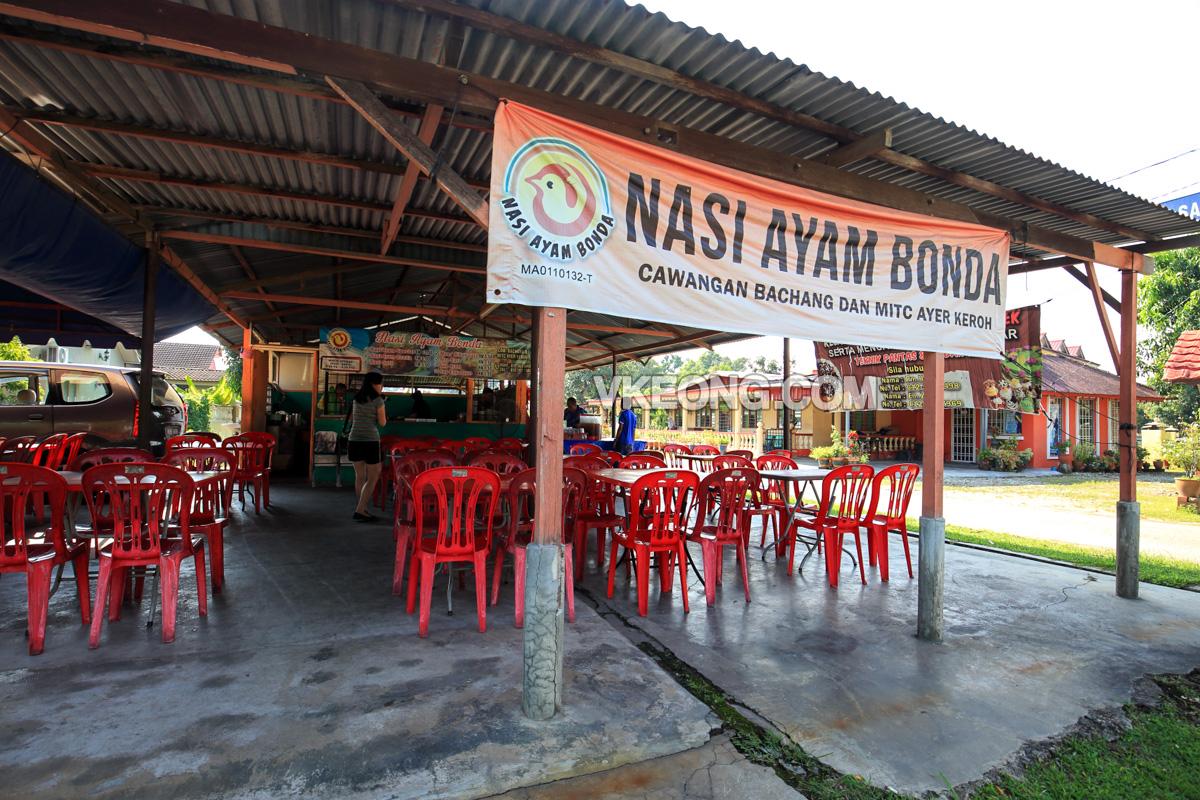Nasi-Ayam-Bonda-Bachang-Melaka