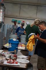 AFUMC members volunteer at the UMCOR Disaster Warehouse