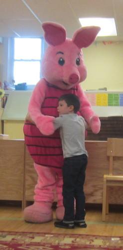 a hug for Piglet