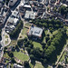 Colchester Castle aerial view