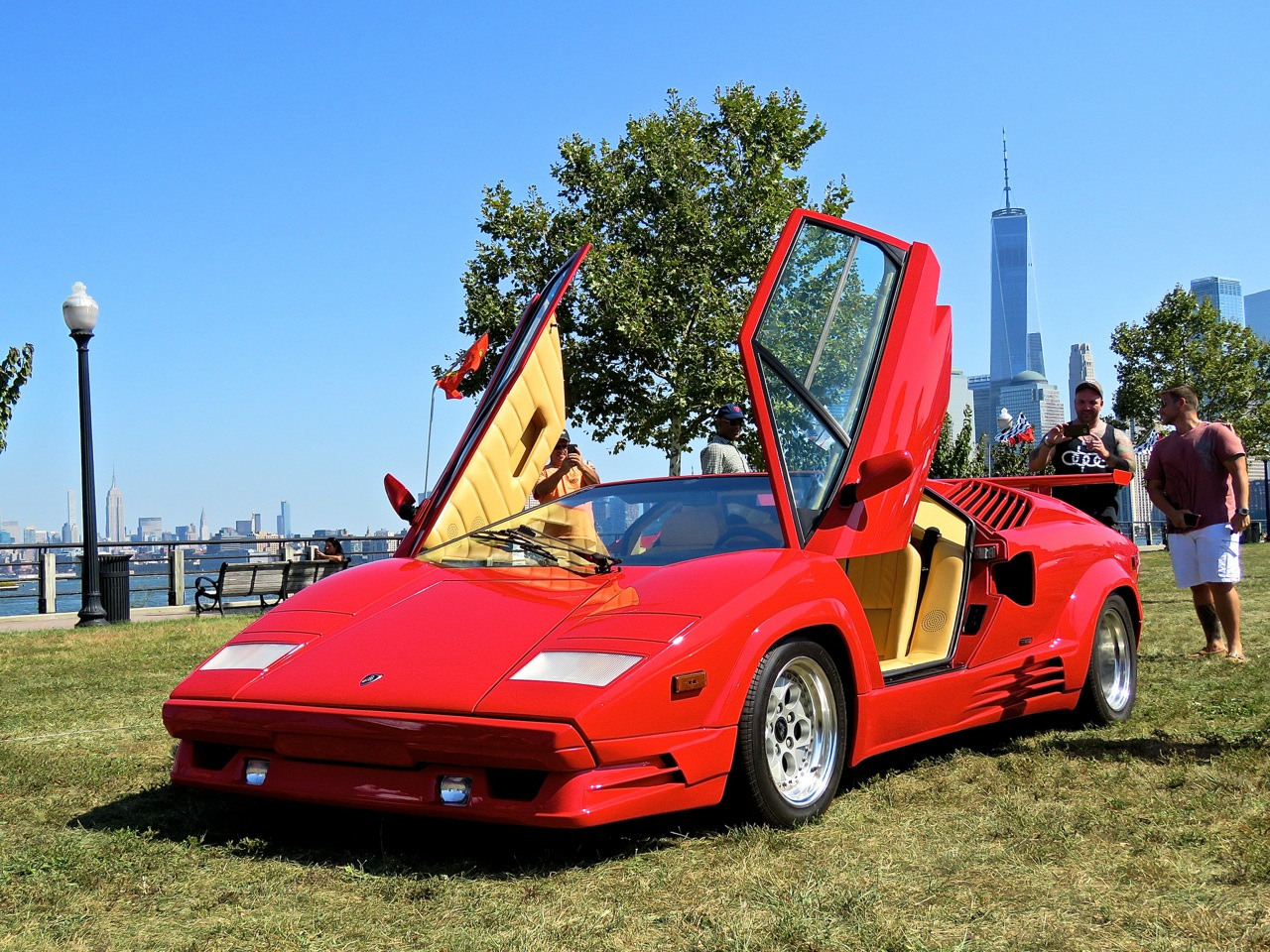 Lamborghini Countach 25th Driven by Purpose 1