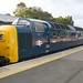 D9009 (55009) brings up the rear on 0Z55 0650 York N.R.M. to East Grinstead Sidings