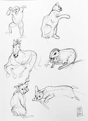 Gesture drawings Day 14