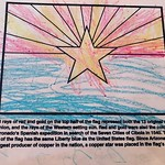 Archer's Arizona Flag. He wrote his name his best at the bottom too. by bartlewife