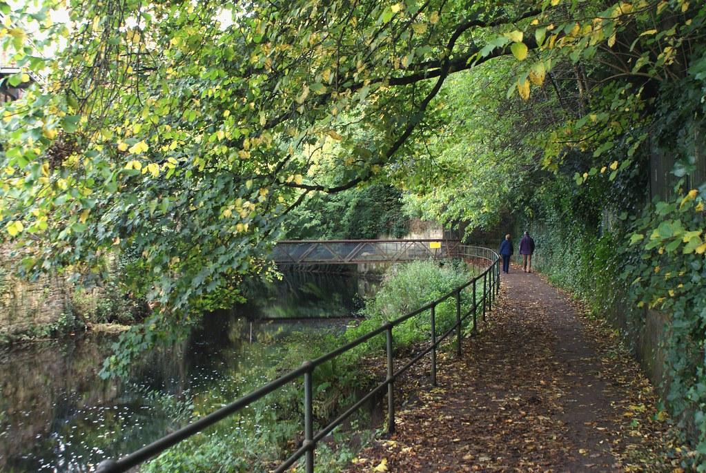 En route vers le village de Dean près d'Edimbourg.