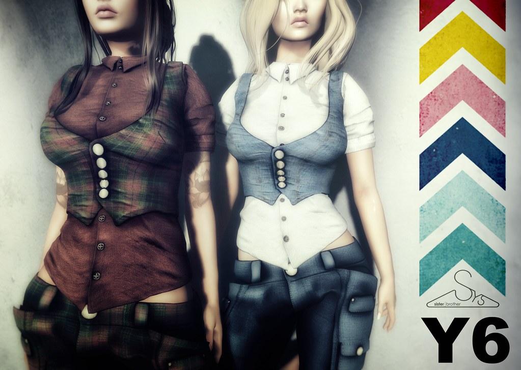 [sYs] Y6 shirt & vest