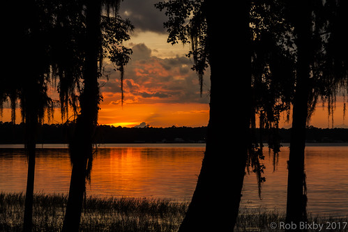 campblanding florida grandchildren grandkids kingsleylake camping family sunset