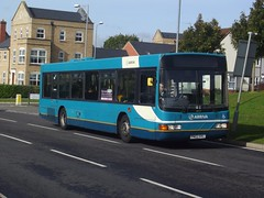 Loan variety: Arriva Harlow Volvo B10BLE/Wright Renown PN02HVL (3312) Forest Hall Road Stansted Mountfitchet 12/10/17